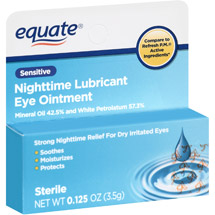 Equate Nighttime Lubricant Sensitive Eye Ointment