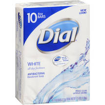 Dial All Day Freshness White Bar Soap