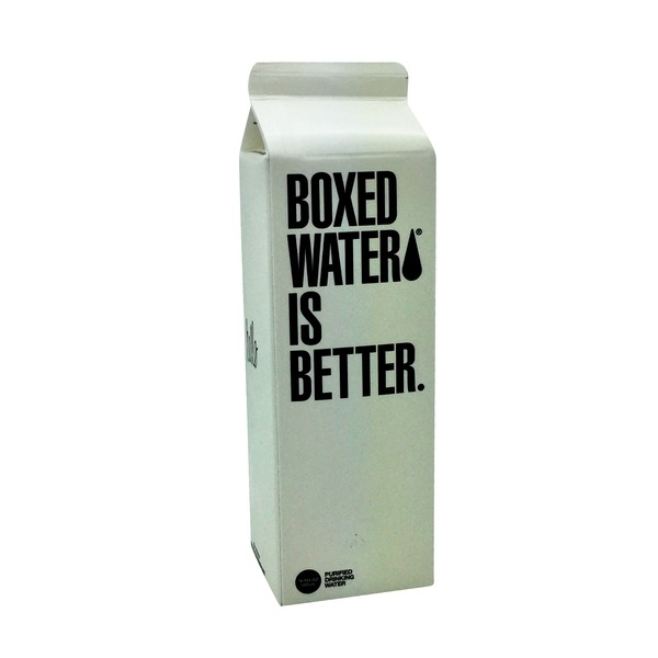 Boxed Water Is Better Carbon Filtered Water