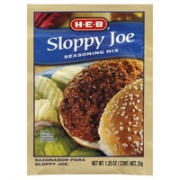 H-E-B Sloppy Joe Seasoning Mix