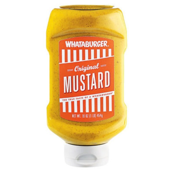 Whataburger Original Mustard