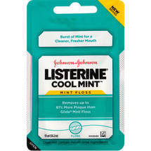 LISTERINE Cool Mint Mint Floss
