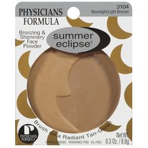 Physicians Formula Summer Eclipse Bronzing and Shimmery Face Powder Moonlight/Light 3104