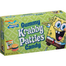 Nickelodeon Krabby Pattie Gummies
