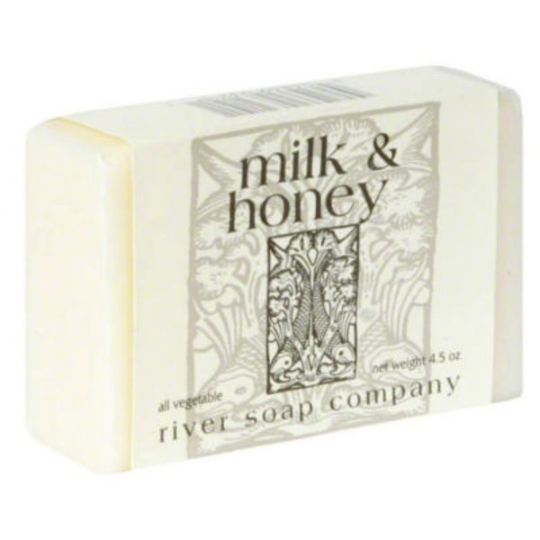 River Soap Company Body Bar Soap Milk & Honey Complexion