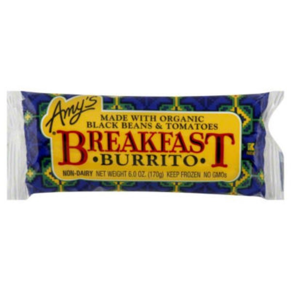 Amy's Breakfast Burrito