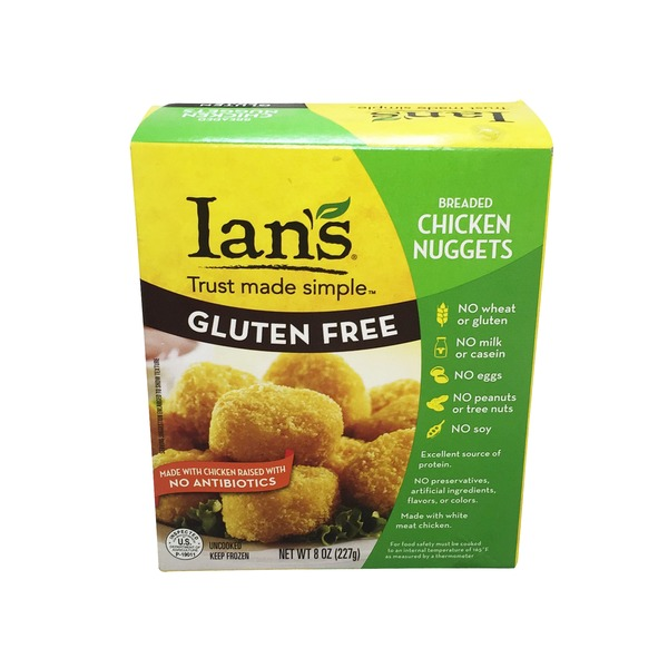 Whole Foods Ians Gluten Free Breaded Chicken Nuggets Delivery
