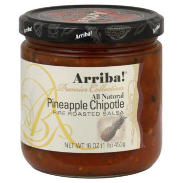 Arriba! Salsa, Fire Roasted, Pineapple Chipotle