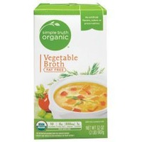 Simple Truth Vegetable Broth Fat Free
