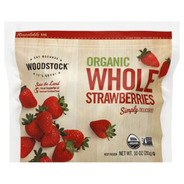 Woodstock Farms Organic Whole Strawberries