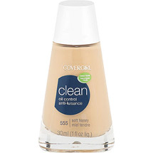 CoverGirl Clean Oil Control Foundation SOFT HONEY 555