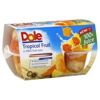 Dole Tropical Fruit in 100% Juice