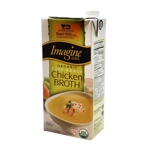 Imagine Foods Organic Free Range Chicken Broth