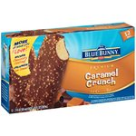 Blue Bunny Frozen Caramel 12 ct Crunch Bars