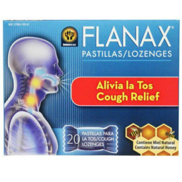 Flanax Cough Relief Lozenges