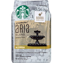 Starbucks Blonde Aria Blend Ground Coffee