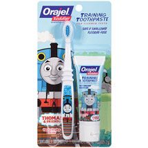 Thomas Toddler Training Toothpaste Tooty Fruity