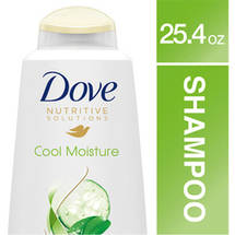 Dove Go Fresh Therapy Cool Moisture Cucumber & Green Tea Shampoo 25.4 Fl Oz