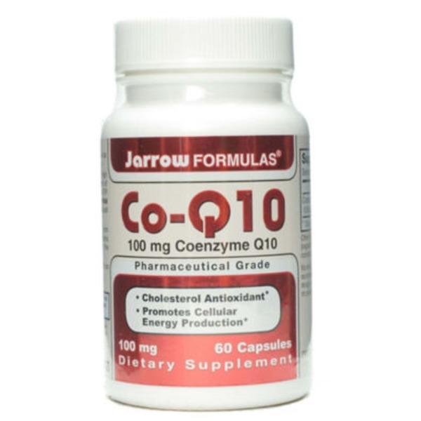 Jarrow Formulas Co-Q10 100 Mg Capsules
