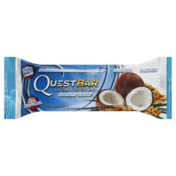 QuestBar Protein Bar Coconut Cashew