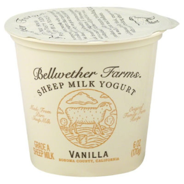 Bellwether Farms Sheep Milk Vanilla Yogurt