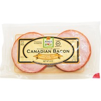 Jones Dairy Farm Natural Hickory Smoked Canadian Bacon Center Cut From Pork Loin