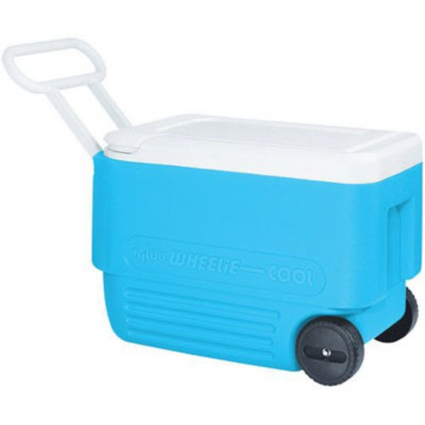Igloo 38 Quart Wheelie Cooler Blue