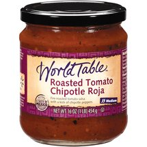 World Table Roasted Tomato Chipotle Red Medium Salsa