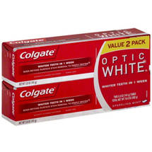 Colgate Optic White Sparkling Mint Toothpaste