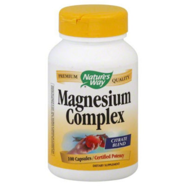 Nature's Way Citrate Blend Magnesium Complex