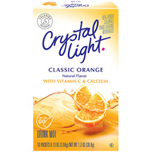 Crystal Light On The Go Sugar Free Sunrise Classic Orange Drink Mix