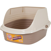 Arm & Hammer Rimmed Litter Pan Blue