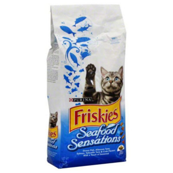 Friskies Dry Seafood Sensations Cat Food