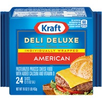 Kraft Deli Deluxe American Slices Cheese