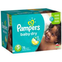 Pampers Baby Dry Diapers Super Pack Size 5