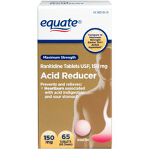 Equate Ranitidine Acid Reducer 150 mg