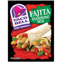 Taco Bell Home Originals Fajita Seasoning Mix