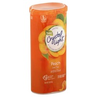 Crystal Light Peach Iced Tea 12 qt Drink Mix