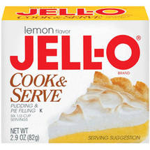 Jell-O Lemon Cook & Serve Pudding & Pie Filling