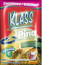 Klass Aguas Frescas Pineapple Flavored Drink Mix