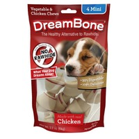 DreamBone Vegetable & Chicken Mini Bone Chews