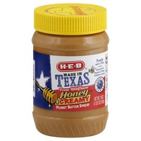 H-E-B Made In Texas Honey Cream Peanut Butter