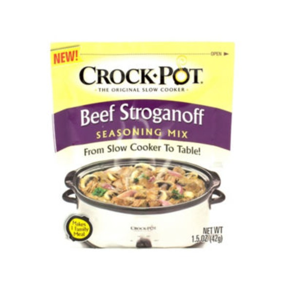 Crock Pot Beef Stroganoff Seasoning Mix