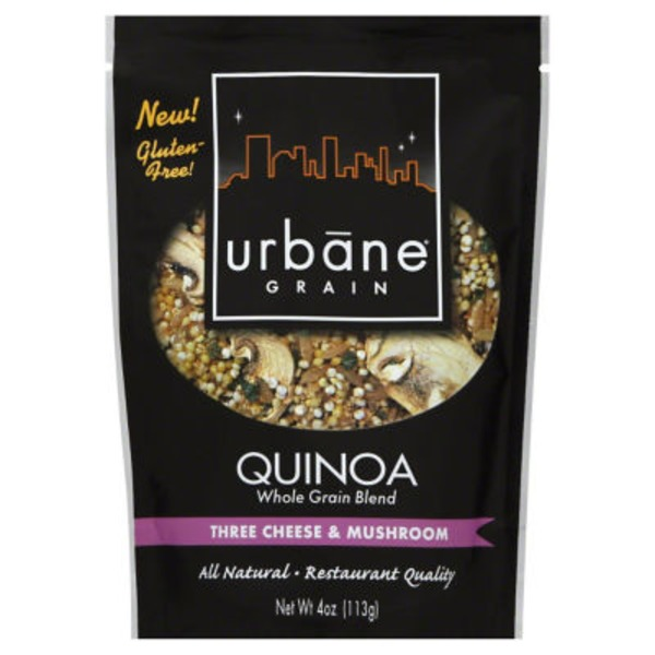 Urbane Grain Gluten Free Quinoa Three Cheese & Mushroom Blend