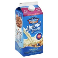 Blue Diamond Almond Breeze Unsweetened Vanilla Almondmilk