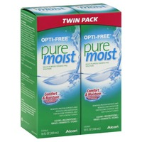 Opti-Free Pure Moist Multi-Purpose Disinfecting Contact Solution Twin Pack - 2 CT