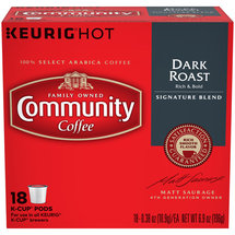 Community Coffee Signature Dark Roast Coffee K-Cup Pods