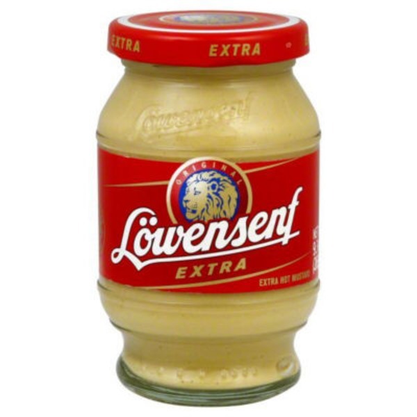 Lowensenf Extra Hot Prepared Mustard