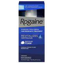 Rogaine for Men Hair Regrowth Treatment Foam