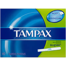 Tampax  Tampon Super Unscented